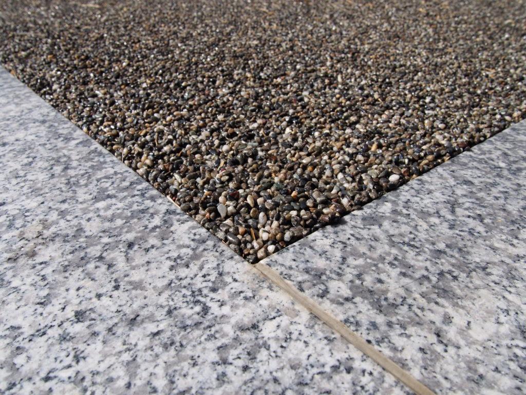 天然石舗装